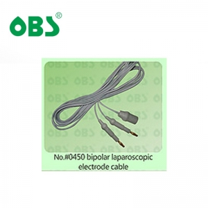 bipolar laparoscopic electrode cable
